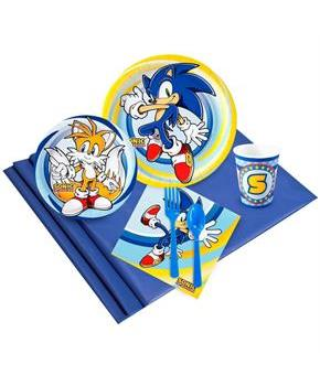 Teen Sonic the HedgeHog 16 Guest Party Pack