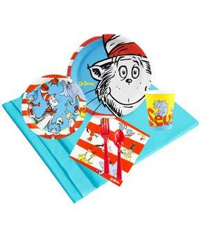 Dr Seuss 24 Guest Party Pack