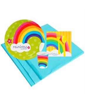 Rainbow Wishes 8 Guest Party Pack
