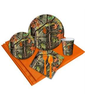 Hunting Camo 16 Guest Party Pack for Halloween
