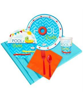 Splashin Pool Party 24 Guest Party Pack