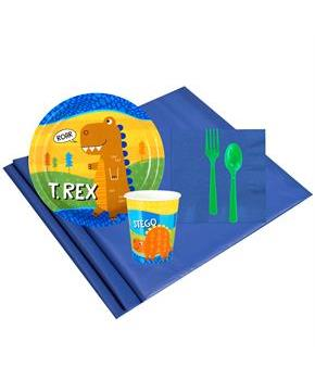Teen T-Rex 8 Guest Party Pack