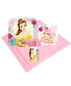 Girls Disney Beauty and the Beast 8 Guest Party Pack