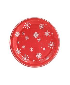 Let it Snow! Dessert Plate