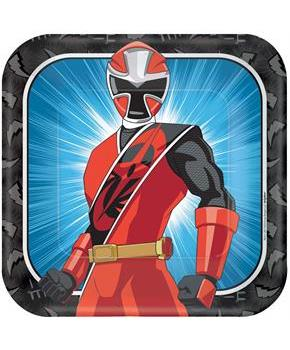 Power Rangers Ninja Steel Dinner Plates (8)