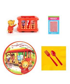 Daniel Tiger's Neighborhood Tableware and Cake Topper Kit