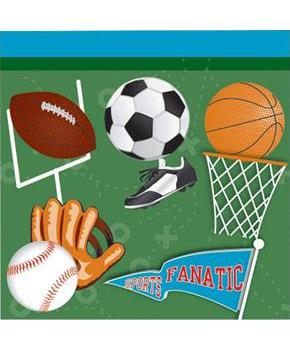 Sports Party Beverage Napkins (16)