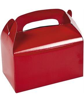 Red Treat Favor Boxes (12)