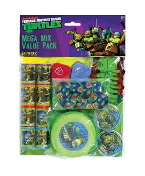 Ninja Turtles Mega Favor Pack (8)