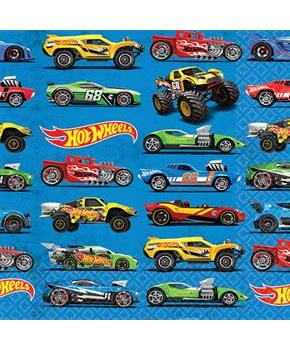 Hot Wheels Wild Racer Beverage Napkins