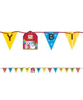 Farmhouse Ribbon Banner Decoration (1)
