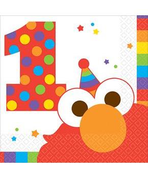 Elmo Turns One Beverage Napkins (16)