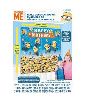 Despicable Me Wall Decorating Kit (5)