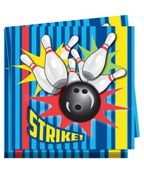 Bowling Lunch Napkins (16)