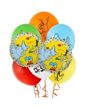 Boys Dr. Seuss Favorites 8 pc Balloon Kit - Multi-colored