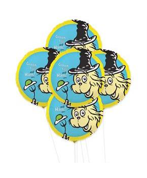 Dr. Seuss 5pc Foil Balloon Kit 18""