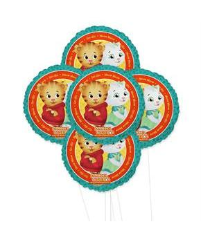 Daniel Tigers Neighborhoods 5pc Foil Balloon Kit 18""