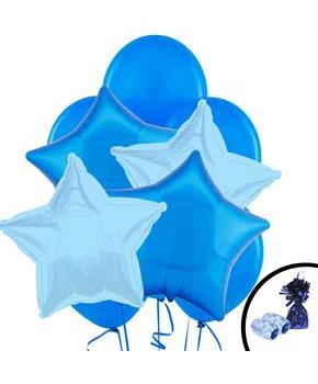 Blue Balloon Bouquet