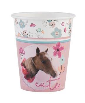 Rachael Hale Beautiful Horse 9oz Paper Cups (8)