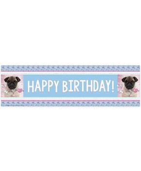 Rachael Hale Dog Love Birthday Banner