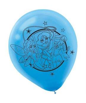 Superhero Girl Latex Balloons(6)