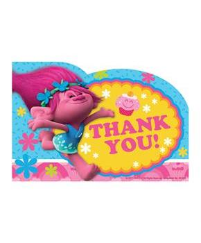 Trolls Thank You Notes(8)