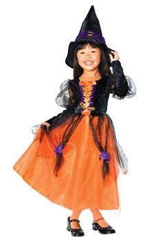 Enchanted Pretty Witch Child Costume