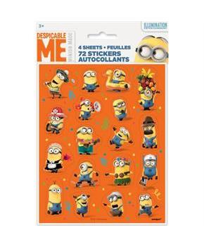 Despicable Me Sticker Sheet (4)