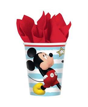 Mickey On The Go 9oz Paper Cups (8)
