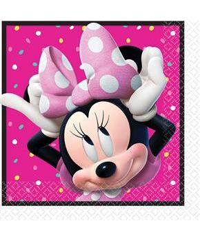 Minnie Mouse Helpers Lunch Napkins (16 )