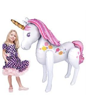 "46"" MAGICAL UNICORN AIRWALKER"