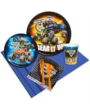 Monster Jam Party Pack for 8