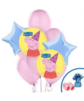 Peppa Pig Balloon Bouquet
