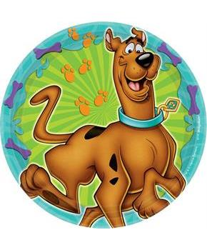 "Scooby Doo 7"" Dessert Plates (8 Pack)"