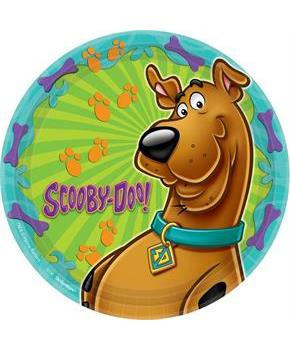 "Scooby Doo 9"" Lunch Plates (8 Pack)"