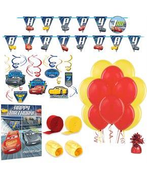 Disney Cars Room Decoration Kit