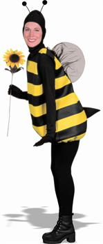 Complete Bumble Bee Adult Costume