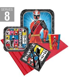 Power Rangers Ninja Steel Party Pack For 8