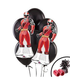 Power Rangers Ninja Steel Jumbo Balloon Bouquet Kit