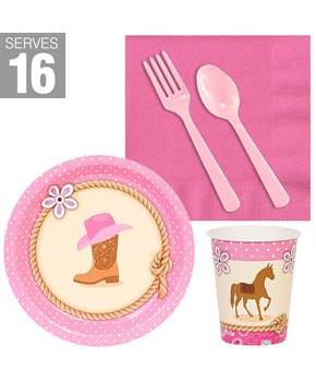Western Cowgirl Snack Pack For 16