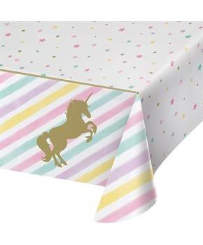 Unicorn Sparkle Plastice Tablecover (1)