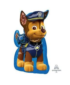 "Paw Patrol Chase 31"" Shaped Jumbo Foil Balloon"