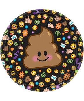 "LOL Smiley 7"" Dessert Plates (8)"