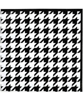 Houndstooth Lunch Napkins (16)