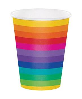 Rainbow Hot/Cold 12oz Cup (8)