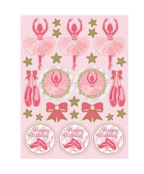 Twinkle Toes Value Stickers (4 Sheets)