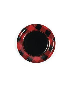 Buffalo Plaid Dessert Plates (8pcs)