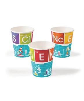 Science Party 9oz Cups (8pcs)