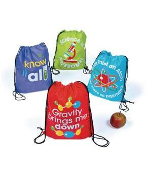 Science Party Backpacks