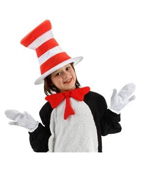 Dr. Seuss The Cat in the Hat Movie - The Cat in the Hat Mitts (Child)
